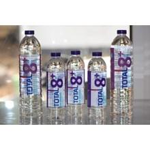 Total 8+ Air Mineral Alkaline  300 ml x 12 botol/carton