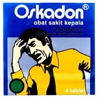 oskadon obat sakit kepala isi 4 tab/strip