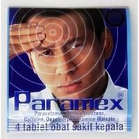 Paramex obat sakit kepala 4 tab/strip