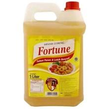 Minyak Goreng Fortune 5 liter/jr x 4 pcs/karton