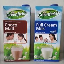 Greenfield Full Cream Milk / Susu UHT Greenfields 1000 ml x 12 pcs/karton