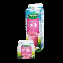 Greenfields UHT Strawberry 250 ml  12 pcs per karton