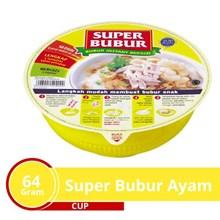 Super Bubur Ayam Cup  64 gr x 24 cup per carton