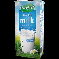 Greenfields ESL Low Fat 1 Liter x 12 pcs per carton