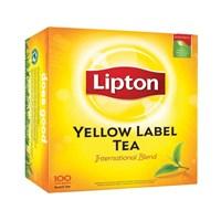 lipton yellow label tea isi 6 x 100 x 2 gr (non envlop)