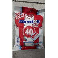 mentos candy cool gel cherry mint pack 132 gr x 24 pack/ctn