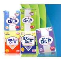 Dr  P Adult diapers  Basic M 10 x 12 bag per carton