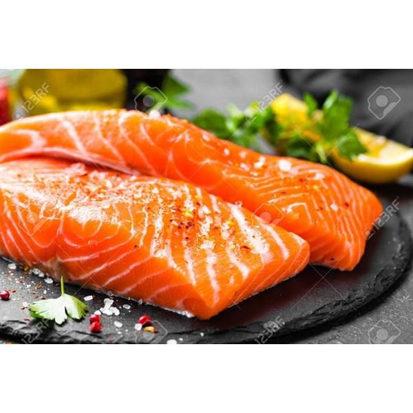 Gorry Salmon Mentah Non Bumbu @150gr per pcs x 750gr per pack x 5 pack