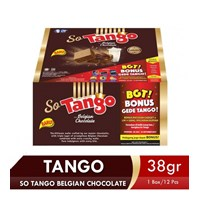 SO TANGO BELGIAN CHOCOLATE 38 GR (1 BOX ISI 12PCS) 1
