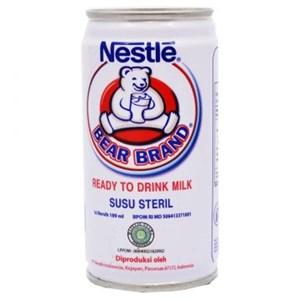 BEAR BRAND RTD Milk Tin 30x189ml ID