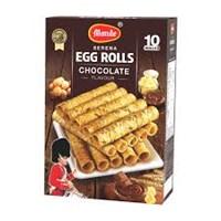 Monde ser egg roll Chocolate 70 gr x 30pcs/ctn
