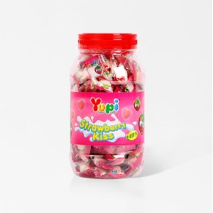 yupi strawberry kiss toples x 6 toples/ctn