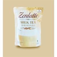 zenlatte milk tea original 24gr x 10 sachet per box x 10 box/ctn 1
