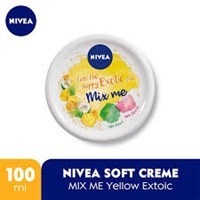 NIVEA SOFT MIX ME YELLOW 100ML x 24PCS/CTN