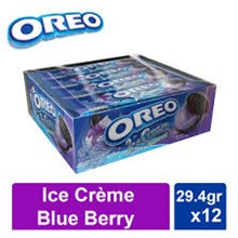 Oreo C/S/C Blueberry Ice Cream 29.4gr x 12x12pcs/ctn