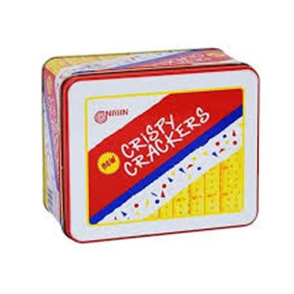 Nissin crispy crackers 750 gr x 6pcs/ctn