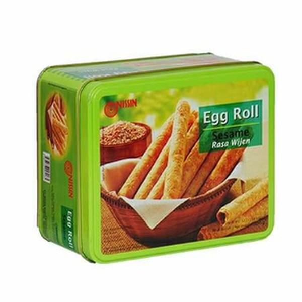 Nissin egg roll wijen 300 g x 6pcs/ctn