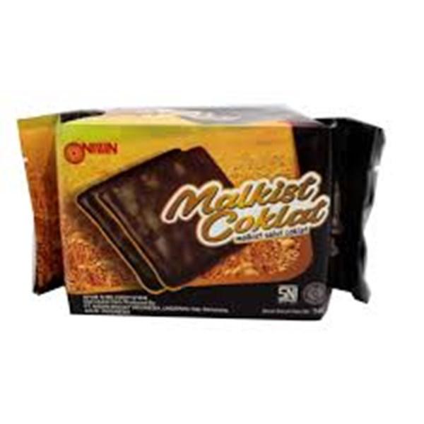 Nissin malkis chocolate 140 gr x 30pcs/ctn