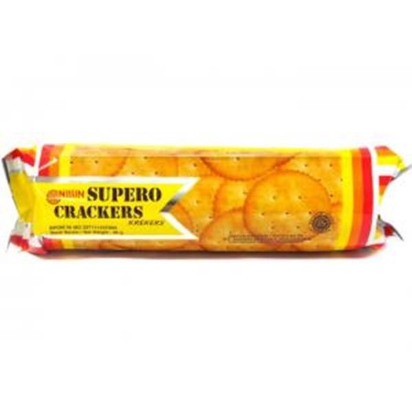 Nissin supero crackers 90 gr x 30pcs/dus