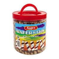 Kogen Chocolate wafer stick 600gr x 6toples/ctn