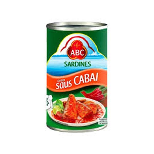 Sardines chilli (B) 425 g x 24pcs/ctn