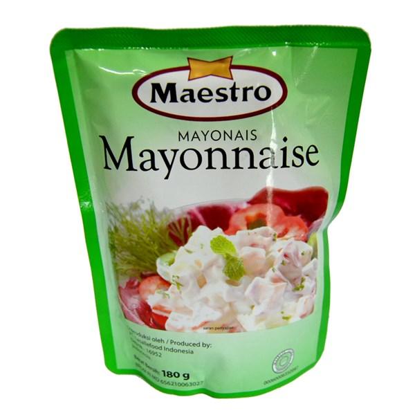 Maestro Mayonaise  pouch 180 gr x 24pcs/ctn