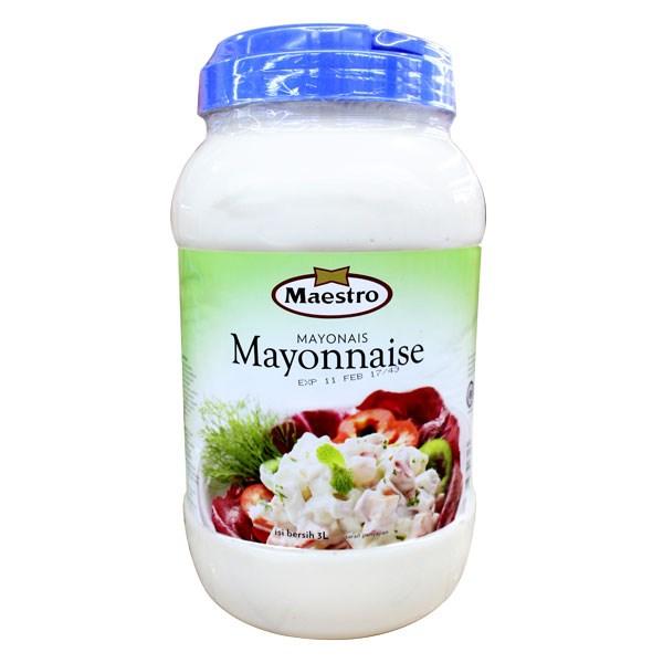 Maestro Mayonaise  pet 3 ltr x 4toples/ctn