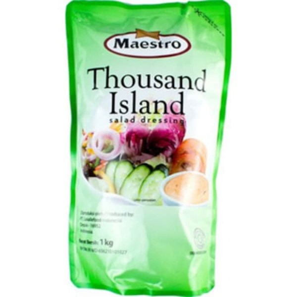Maestro Thousand  island pouch 1 kg x 10pcs/ctn
