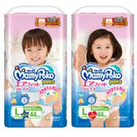 Mamypoko Pants Air Fit B/G L44 x 4pack/ctn