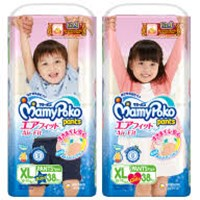 Mamypoko Pants Air Fit B/G XL38 x 4pack/ctn
