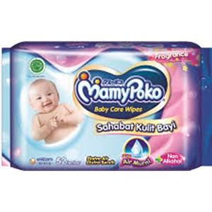 MamyPoko Wipes Reguler 10 P / NP x 60pack/ctn