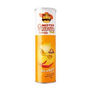 Mr.Potato Crispy Hot&Spicy 100gr x 14pcs/ctn