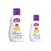 SLEEK BABY NATURAL ANTIBACTERIAL 2 1N 1 HAIR & BODY FOAMY WASH