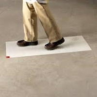 3M CLEAN WALK MAT 5830 WHITE 18inch x 46inch PERBOX ISI 120SHEET