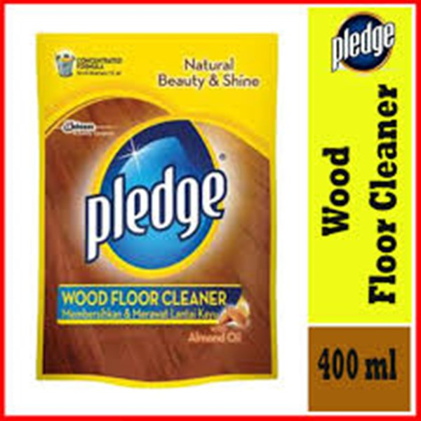 PLEDGE WOOD FLOOR CLEANER POUCH 400ML X 12PCS/CTN