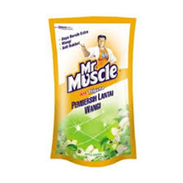 MR. MUSCLE AXI TRIGUNA APPLE POUCH 800ML X 12PCS/CTN