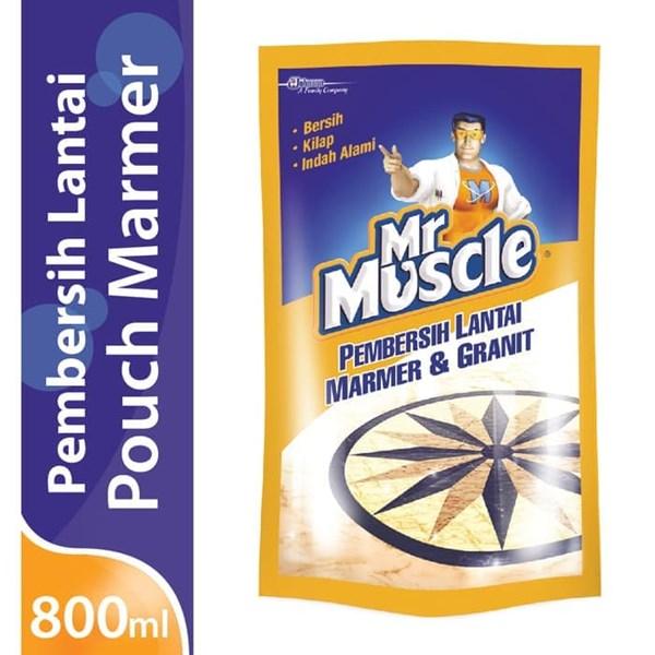 MR MUSCLE AXI MARMER POUCH 800ML X 12PCS/CTN