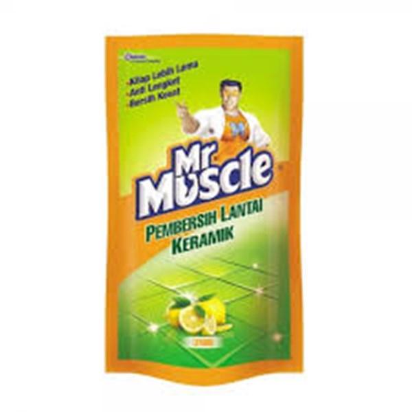 MR MUSCLE AXI KERAMIK LEMON POUCH 800ML X 12PCS/CTN