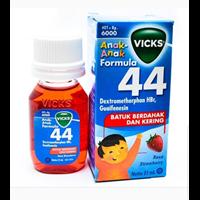 VICKS FORMULA 44 ANAK 54 ML X 72PCS/BOX RASA STRAWBERRY