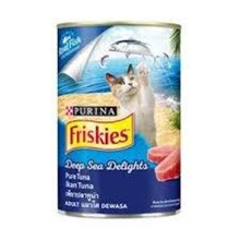 FRISKIES ADULT WetPureTuna Can 24x400gN1TH