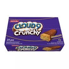 CLOUD 9 CRUNCHY CHOCOLATE 9 GR X 300PCS/CTN