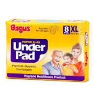 Bagus UnderPad W-21215 (60 cm x 90 cm) XL (8) per karton isi 12 pak