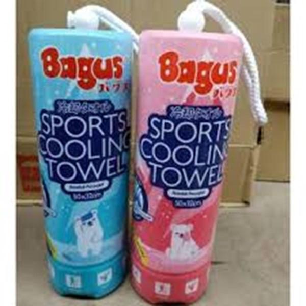 Bagus Sport Cooling Towel 50x32cm W-2334 Per Pcs isi 2 lusin