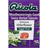 RICOLA SUGAR FREE ELDERFLOWERS 6bx20px45gr