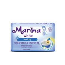 MARINA SOAP60 GR-WHITE.HEALTHY