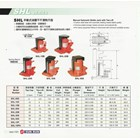 Hydraulic Toe Jack model  SHL Series 2