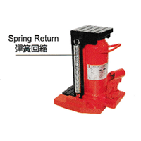 Hydraulic Toe Lift Jack SHL Series