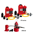 Bottle jack with air pump ST Series 1
