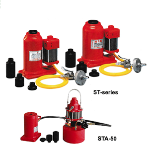 Bottle jack with air pump ST Series