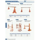 Hidrolik Cable Drum Stand model SBT-5A 1
